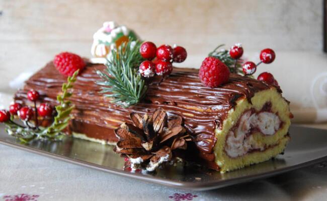 Tronchetto Di Natale Originale.Tronchetto Di Natale Un Tipico Dolce Natalizio